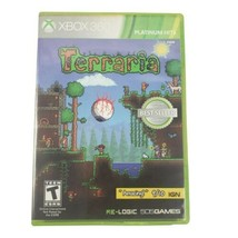 Microsoft Xbox 360 Terraria Platinum Hits Video Game (Complete, 2014) - $14.46