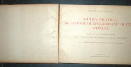Antique Book 1934 Italy Spa Guide Part II Alpine Resorts Piemonte Photo Maps image 4