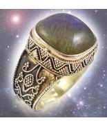 HAUNTED RING SACRED WORDS AWAKEN MAGICIAN WITHIN EXTREME MAGICK ILLUMINATI - $777.77