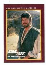 Star Trek The Next Generation card #182 Who Watches the Watchers - $3.00