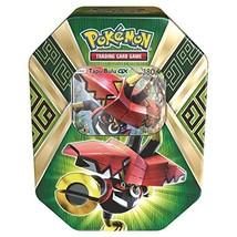 Pokemon TCG Sun & Moon Guardians Rising Collector's Tin, Containing 4 Bo... - $19.75