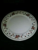 "Sheffield Anniversary Porcelain Fine China 10"" Dinner Plate - $12.58"