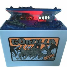 Godzilla Monster Dinosaur Moving Musical Electronic Chirldren Coin Bank ... - $21.75