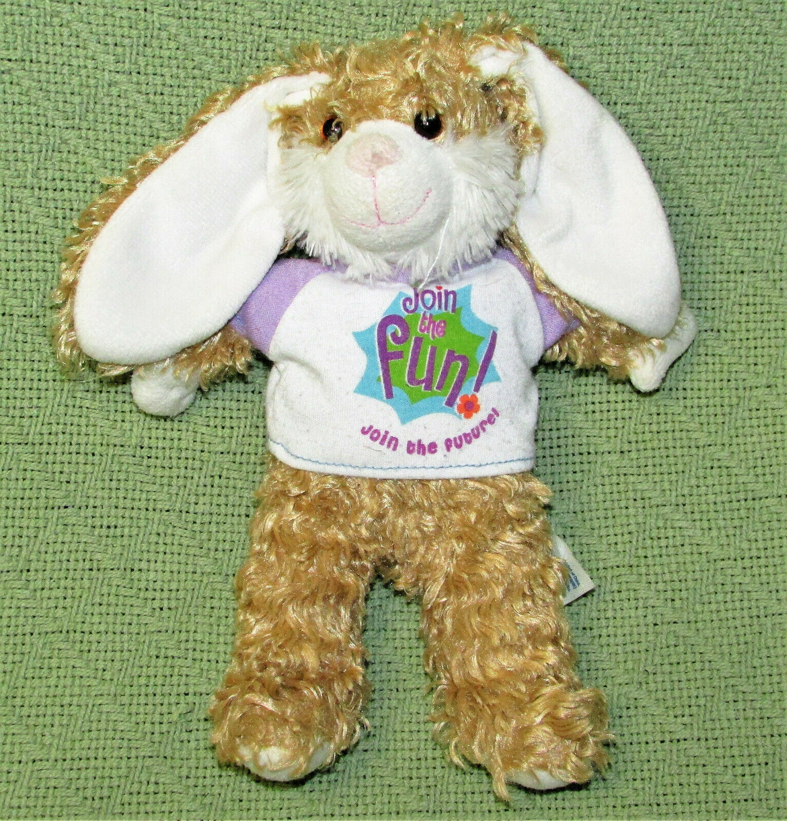Primary image for BUILD A BEAR SMALLFRYS BUDDIES BUNNY RABBIT STUFFED ANIMAL BE THE FUTURE T SHIRT