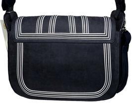 Tory Burch Blue Tassel Large Shoulder Bag Purse Satchel image 4