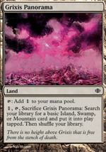 Magic The Gathering-Shards of Alara-GRIXIS PANORAMA - $0.19