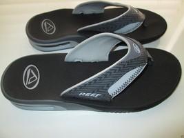 Reef Gripped Nubs Dive Slide Men' Sandals Charcoal Gray 8  - $51.95 CAD