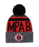 Tampa Bay Men's Winter Knit Original Pom Beanie (Black/Red) - $16.10