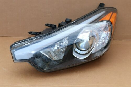 14-16 Kia Forte Halogen Headlight Head Light w/o LED Driver Left - LH