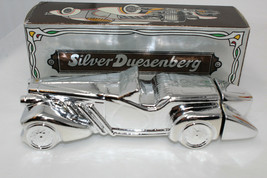 Vintage AVON Silver Duesenberg Car OLAND After Shave FULL 6oz. with Box! - $15.00
