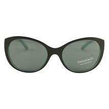 New Tiffany & Co. Sunglasses TF 4086-H-A-8163-3F Black/Turquoise Acetate... - $166.25