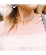KENDRA SCOTT Gorgeous $110 Amber Choker Adjustable Necklace w/ Logo Bag ... - $60.00