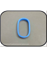 """3"""" Number Zero 3D Printed Cookie Cutter - $3.00"""