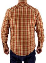 NEW NWT LEVI'S MEN'S LONG SLEEVE BUTTON UP CASUAL DRESS SHIRT ORANGE 3LYLW211 image 4