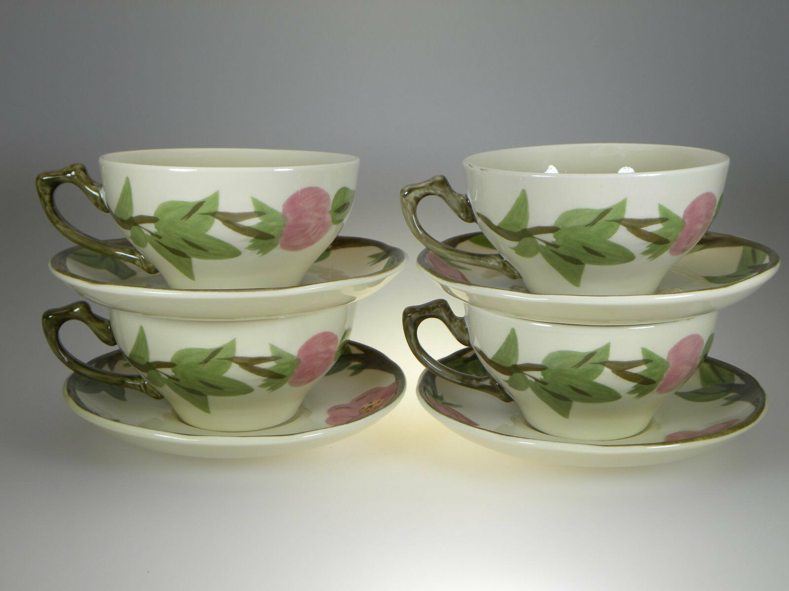 Franciscan Desert Rose 12 Cups & 12 Saucers Set of BRAND NEW PRODUCTION