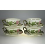 Franciscan Desert Rose 12 Cups & 12 Saucers Set of BRAND NEW PRODUCTION - $21.46