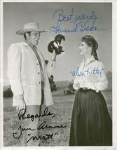 James Arness & Amanda Blake Signed Photo 8X10 Rp Autographed Jim Gunsmoke Cast - $19.99