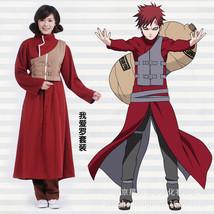 Naruto Gaara Halloween Kimono Whole Suit Cosplay Costume X001 - $45.83