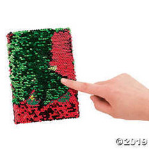 Christmas Tree Reversible Sequins Notebook - $25.36 CAD