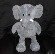 "17"" Animal Adventure 2015 Gris Elefante con Relleno Juguete de Felpa Lovey Dulce - $30.73"