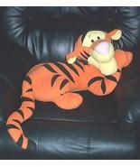 "BIG SALE Disney Winnie Pooh Plush F-P LOUNGING Laying TIGGER 24"" PlayMate - $11.95"