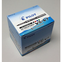Pilot BXS-IC-S3 Hi-Tecpoint V5/V7 Ink Cartridge (12pcs) - Black Ink - $16.02