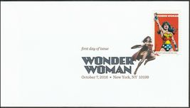 US 5149-5152 Wonder Woman (set of 4) DCP FDC 2016 image 4