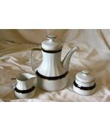 Eschenbach Echt Bavaria Kobalt 3 Piece Vintage Tea Service - $69.29