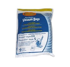 Electrolux Style S & OX Harmony Canister Envirocare 9 Vacuum Bags # 135-9 by Env - $10.77