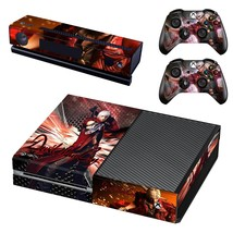 Devil May Cry decal for xbox one console and 2 controllers - $15.00