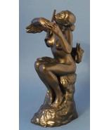 Flutist La Joueuse de Flute Nude Woman Statue Sculpture Camille Claudel ... - $83.42