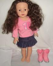 """Urban Cowgirl 18"""" Favorite Friends Doll  Madame Alexander Dark Hair Needs TLC - $38.56"""