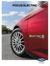 2015 Ford FOCUS ELECTRIC sales brochure catalog US 15 EV - $8.00