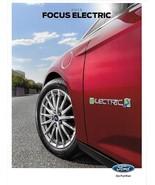 2015 Ford FOCUS ELECTRIC sales brochure catalog US 15 EV - $8.00