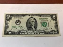 United States Jefferson $2 uncirc. banknote 1976 #4 - $12.95