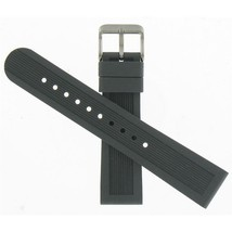 Swiss Army Brand 19mm Mid-Size Black Rubber  Dive Master 500 Watch band 004610 - $125.00