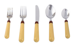 Corn Theme 20 Piece Flatware Set For 4 – Stainless Steel Cutlery Set - $12.59