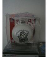 Oakland Raiders 2005 Ornament Glass Ball NFL Football LA Las Vegas  - $14.85