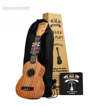 Official Kala Learn to Play Ukulele Starter Kit, Light Mahogany – Includ... - $65.85