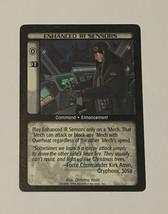 Battletech Enhanced IR Sensors TCG 1996 CCG Wizards of the Coast Trading Card CE - $9.89
