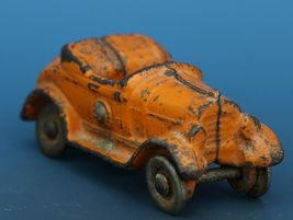 Vintage Kilgore Cast Iron Toy Car Toy Convertible Roadster C.1930 image 5