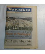 Newsday October 12 1987 March on Washington Gay Rights AIDS Funds NFL St... - $99.99