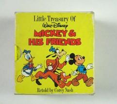 Little Treasury of Walt Disney Mickey Mouse Friends Board Books Set 6 Sl... - $14.84