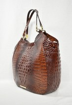 NWT Brahmin Thelma Tote / Shoulder Bag/Tote in Pecan Melbourne Embossed Leather - $315.00