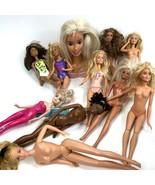 Mixed lot of Barbie Dolls #2 - $19.79