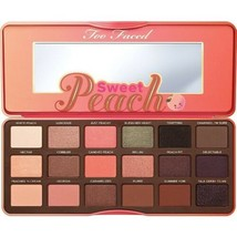 Too Faced Sweet Peach Eyeshadow Palette Authentic New In Box Free Ship - $34.99
