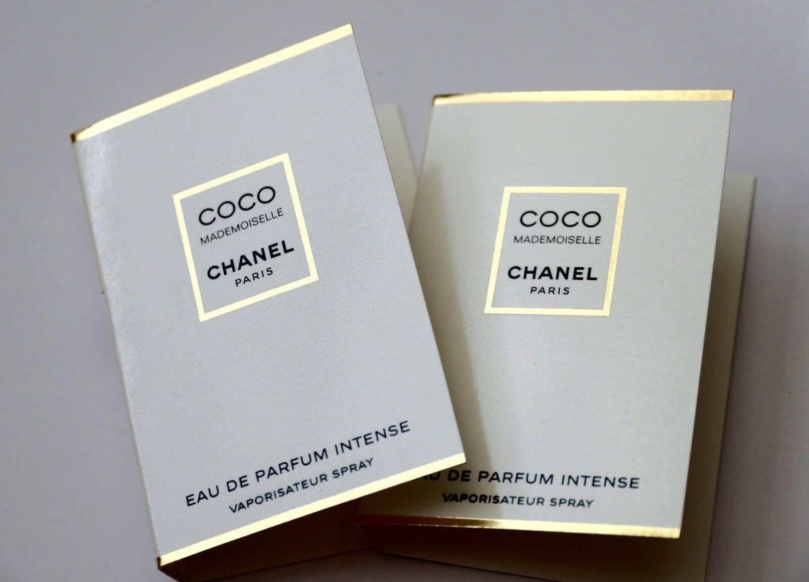 2 x Chanel Coco Mademoiselle Eau de Parfum Intense Samples Spray EDP Perfume Lot