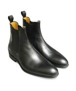 O men blue genuine leather chelsea boot men leather boot 1ec8 thumbtall