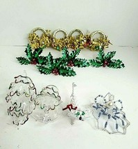 Christmas ornaments and napkin holders - $22.44