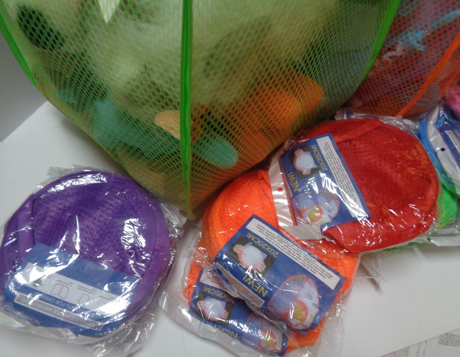 """Generation Mesh Storage Hamper Large 14"""" x 14""""x 23"""" NWT All Colors Free Shipping"""